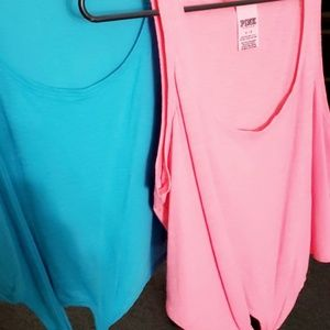 Pink Tank tops